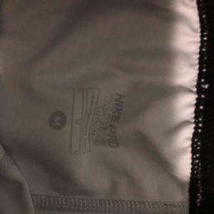 Nike Pants - Nike pro running tights.